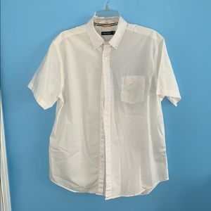 White Nautica Button-Down Shirt